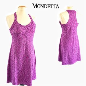 Mondetta Racer Back Active Dress L
